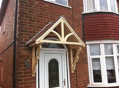Timber Front Door Canopy Porch