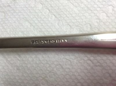 Fb Rogers Italy Silver Plated Serving Spoon & Fork 5