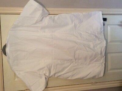 "Alexandra  White nurse carer ect tunic top s/s W63 60"" chest 4"