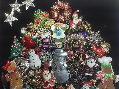 Jewelry Christmas Trees.Vintage Rhinestone Costume Jewelry Christmas Tree Art Shadowbox Frame 12 X 16
