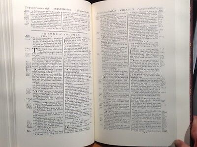 """1769 """"Revised Standard Oxford Edition"""" of the 1611 King James Bible Facsimile 6"""