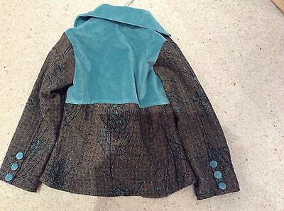 INFANCY  JACKET 8 Years . Velvet detail .Stunning !!! New no tags 2