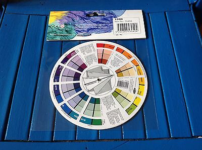 ARTIST POCKET COLOUR WHEEL ICON MIXING 13CM GUIDE TOOL  art accessories 2