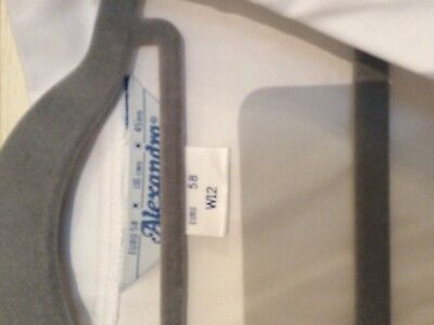 """Alexandra white Lab / catering ect Thick smock top W12 size 45.5"""" chest 3"""