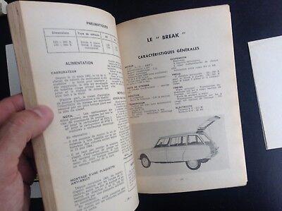 Guide technique pratique Votre Ami 6 Citroen  BON ETAT PLUS automobile 6