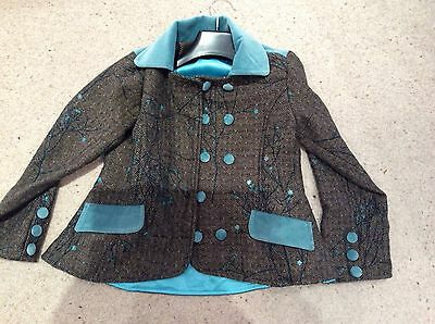INFANCY  JACKET 8 Years . Velvet detail .Stunning !!! New no tags 3