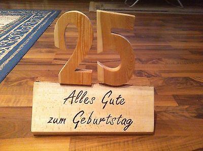Geschenk Zum 18 20 30 40 50 60 70 80 Geburtstag Holz