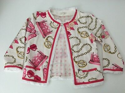 Miss Grand Outfit, Set, Size 38, Age 10,Skirt, Top & Cardigan, Pink & White, Vgc 2