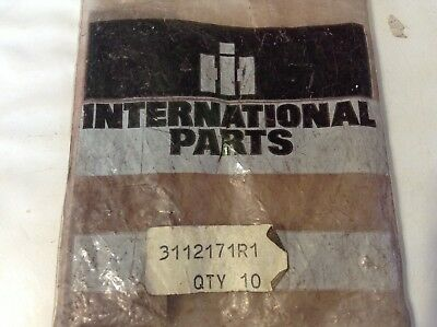 3112171R1- A New Original Rear Hood Retainer Strip For An IH 354, 364 Tractors 4