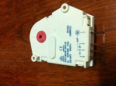 Fridge Defrost timer 6Hour/25 Min Westinghouse Fisher Paykel p/n 1415435 0504 4