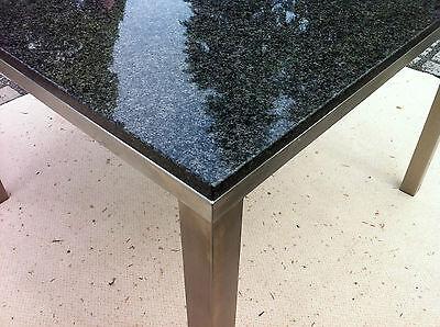 Naturstein Granit Wohnzimmertisch Esstisch Gartentisch Gestell