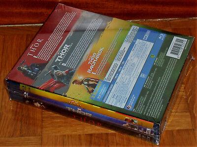 Thor Trilogia 3 Peliculas 3 Blu-Ray Nuevo Precintado Aventuras (Sin Abrir) R2 4