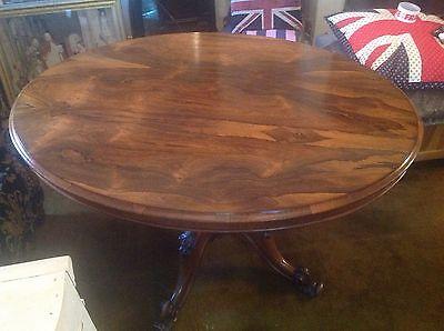 victorian carved mahogany tilt top oval breakfast table 9