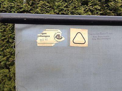 Alte Rollkarte Lehrtafel Schulwandkarte Mensch Verrenkung Verstauchung Arzt Deko 6