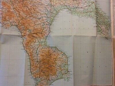 Gallipoli Cartina Geografica Italia.Foglio 4 1953 Carta Generale Italia Meridionale 1 500 000