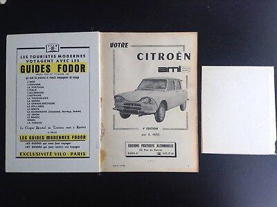 Guide technique pratique Votre Ami 6 Citroen  BON ETAT PLUS automobile 5