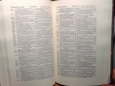 """1769 """"Revised Standard Oxford Edition"""" of the 1611 King James Bible Facsimile 5"""