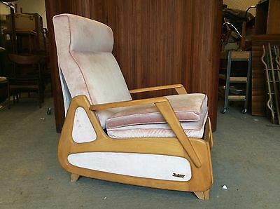 1950's French armchair/1960's armchair/Danish armchairs/French Loungeri 5