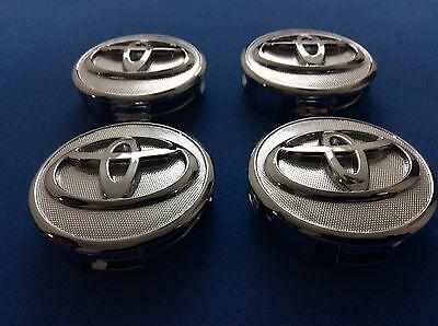 4 Wheel Center Hub Caps fits Toyota  07-13 Prius 09-13 Corolla 07-14 Yaris 2