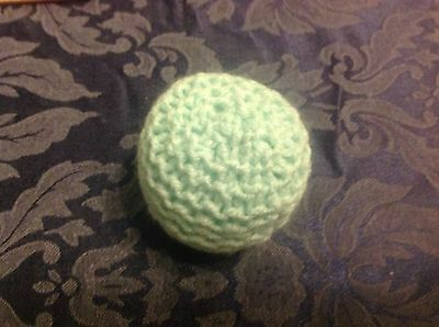 Jellybean Needs Your Help - Hand Knitted Catnip Ball Toy + Free Toy 4