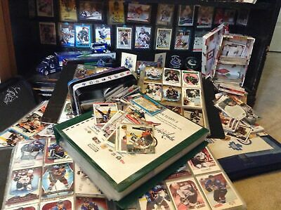 1000 Random Hockey Card Collection Mint All Sets + 1 NHL PLAYER SIGNED PHOTO 3