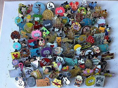 Disney Trading Pins lot of 100 1-3 Day Shipping 100% tradable no doubles 3