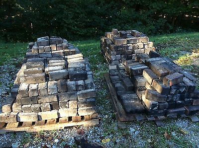 Vintage Hocking Block pavers from lancaster ohio fairfield county fairgrounds! 7