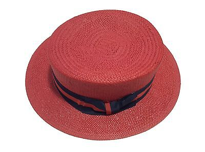 New Men's Bruno Capelo Hat Straw Boater Gatsby barbershop skimmer Fashion Colors 12
