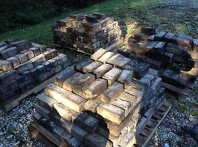 Vintage Hocking Block pavers from lancaster ohio fairfield county fairgrounds! 8