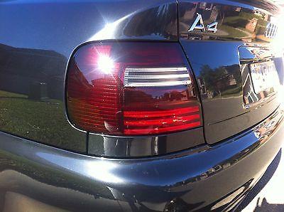 Schwarze Rückleuchten Lasierung Lasur Lasieren Ihrer Audi A4 B5 Rückleuchten TOP