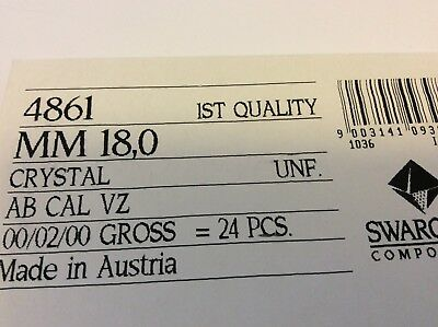 Swarovski #4861 Fire ball Crystal CAL multi faceted Flat bottom single OPTIONS