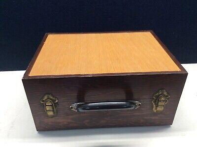 Vintage Weston Volts/Milliampers Wood Box Untested Motorola Pt. No. 72D82794C01 6