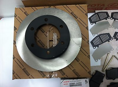 Nakamoto Brake Disc Rotors Front Pair Set of 2 for 03-05 Hyundai Accent