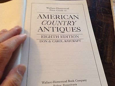 American country antiques price guide eighth edition 3