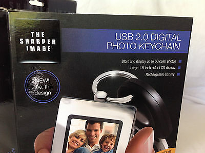 The Sharper Image USB 2.0 Photo Keychain