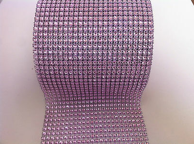 Sparkly Diamond Diamante Effect Ribbon Cake Trim Bridal Sewing Trim Crystal Lace