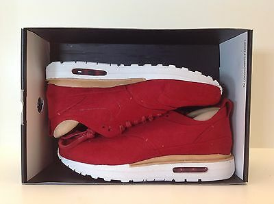 huge discount ebb5a fd352 ... 847671 661 1 of 8FREE Shipping Nike Air Max 1 Royal Men s Size 8-13 Red  White New in Box