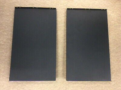 Dimplex Brayford Electric Stove Fire 2x Black Metal Panels/Covers BFD20R 2