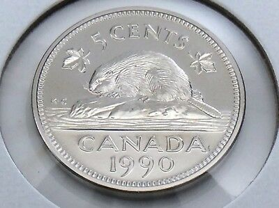 2001-P Proof-Like Nickel 5 Five Cent /'01 Canada//Canadian BU Coin Un-Circulated