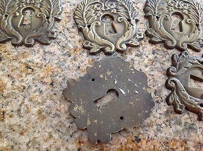 Antique  Single key hole Set Of 10 3