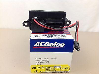A//C Delco~Heater Blower Motor Resister~22807122~Silverado~Avalanche~NIB