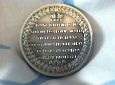 COMITIA AMERICANA, GULIELMO WASHINGTON LEGIONIS  39MM Pewter Medal 1975 3