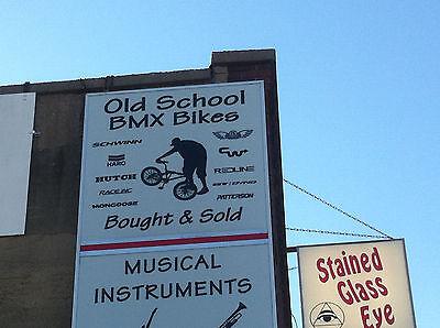 OLD SCHOOL BMX CRIT PLATE NUMBER 6 PINK