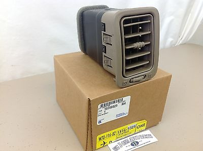 OEM NEW 01-07 GM Truck /& SUV Right /& Left Instrument Panel A//C Air Vent Duct Tan