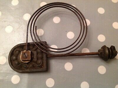 Antique Clock Chime Flat Wire Gong Antique Clock Part 175x115mm 4