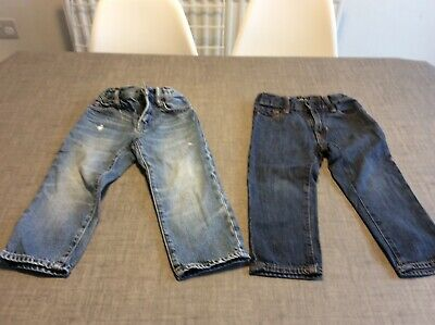 Gap boys jeans size 2, three pairs 4
