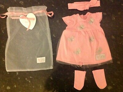 Chad Valley Tiny Treasures Dolls Clothes Outfits Various Sets Available All New 8
