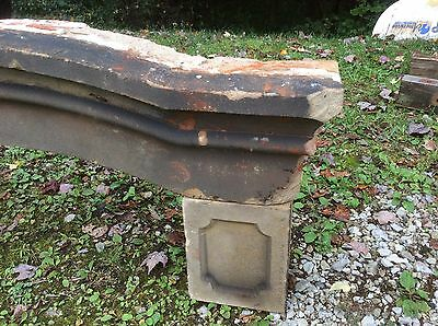 Sandstone window header and blocks from the MUDHOUSE MANSION in Lancaster Ohio 5