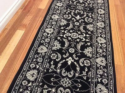 Hallway Runner Hall Runner Rug Black 5 Metres x 1 Metre Wide We Can Cut To Size