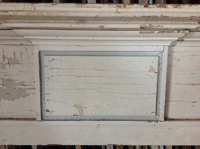 Early New England Fireplace Mantel Mantle Raised Panels 19th C 3